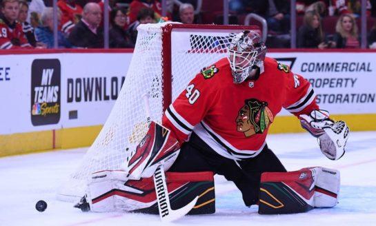 THW's Goalie News: Lehner's Big Night, Apple Cheeks, and More