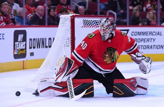 Chicago Blackhawks Robin Lehner