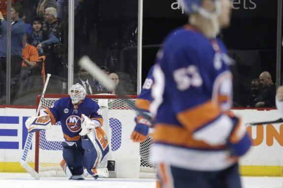 New York Islanders Robin Lehner