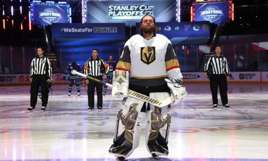 Golden Knights Goalie Tandem Primed To Win Big at NHL Awards