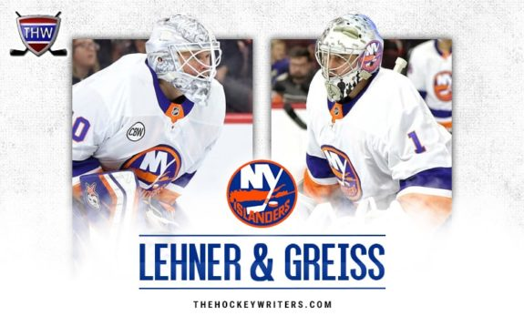 Thomas Greiss and Robin Lehner