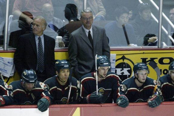 Jacques Lemaire Mario Tremblay Minnesota Wild