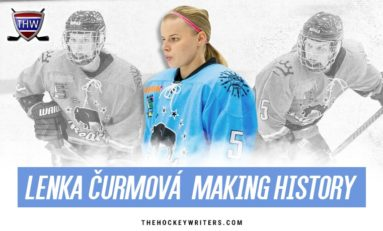 Buffalo Beauts D Lenka Čurmová Is Making History