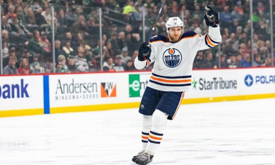 Draisaitl Scores Twice as Oilers Come From Behind to Beat Predators 3-2