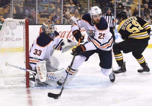Edmonton Oilers center Leon Draisaitl
