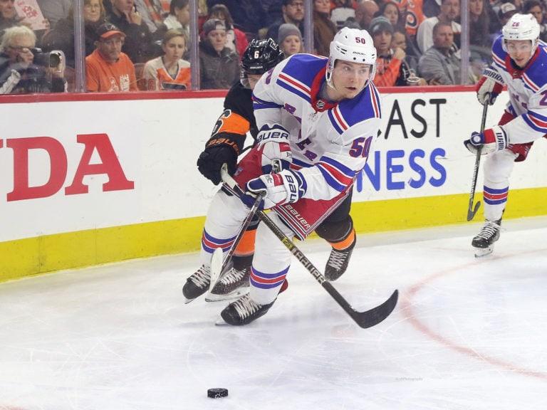 Lias Andersson New York Rangers