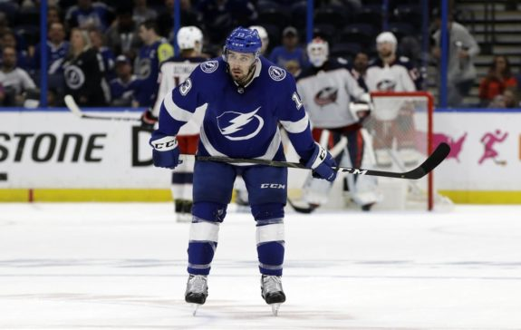 Tampa Bay Lightning Cedric Paquette
