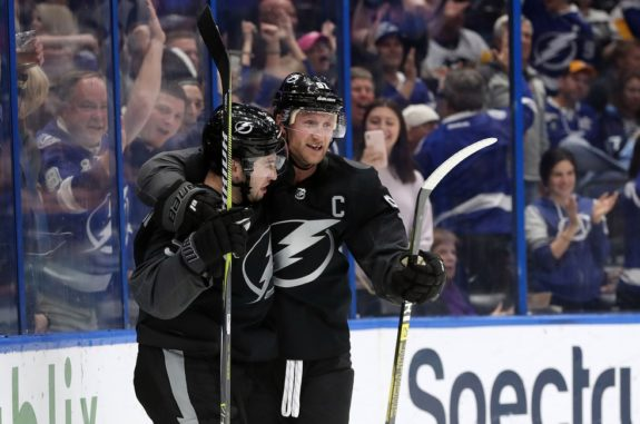 Tampa Bay Lightning Tyler Johnson Steven Stamkos