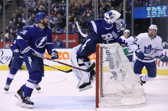 Tampa Bay Lightning Braydon Coburn Andrei Vasilevskiy