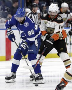 Ducks Adam Henrique Lightning Nikita Kucherov