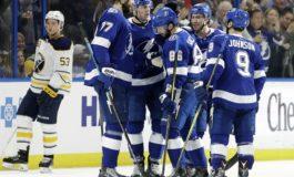 Lightning Stop Sabres 10-Game Winning Streak