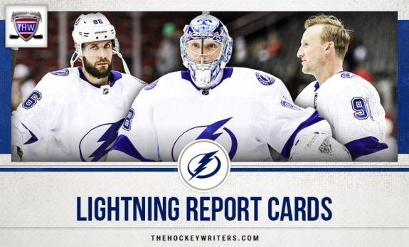 Tampa Bay Lightning Report Cards