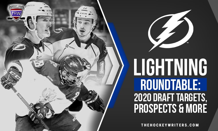 Lightning Roundtable: 2020 Draft Targets, Prospects & More Cal Foote, Alexander Pashin and Alex Barre Boulet