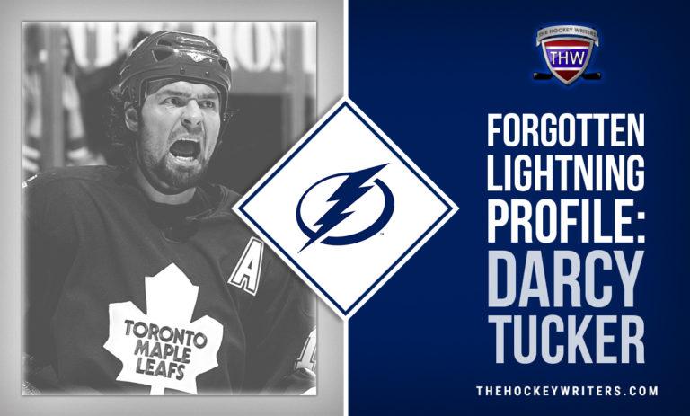 Tampa Bay Lightning Forgotten Lightning Profile: Darcy Tucker