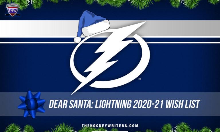 Dear Santa Tampa Bay Lightning' Wish List for the 2020-21 Season