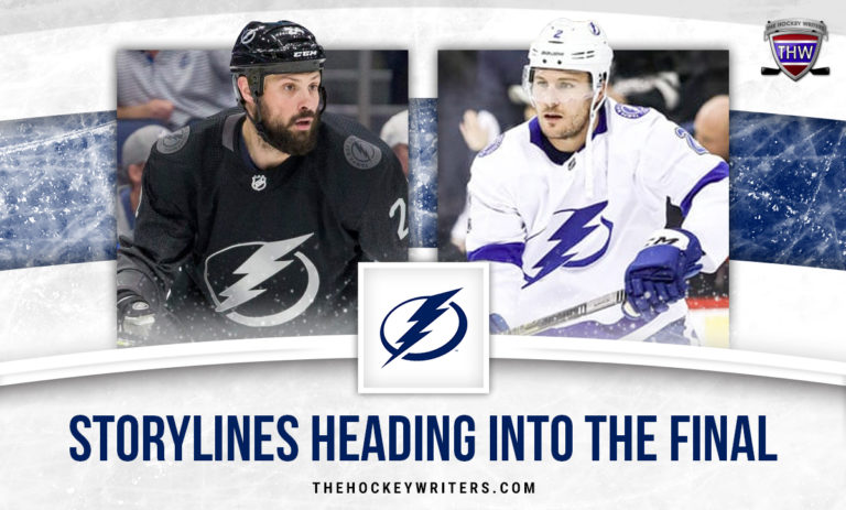 Zach Bogosian and Luke Schenn Tampa Bay Lightning: 2 Storylines Heading into the Stanley Cup Final