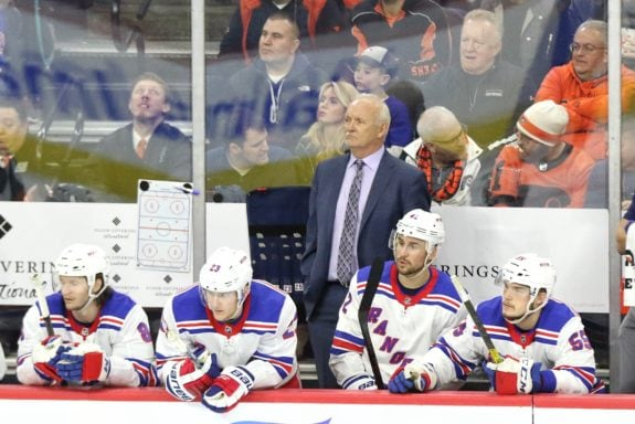 Lindy Ruff New York Rangers