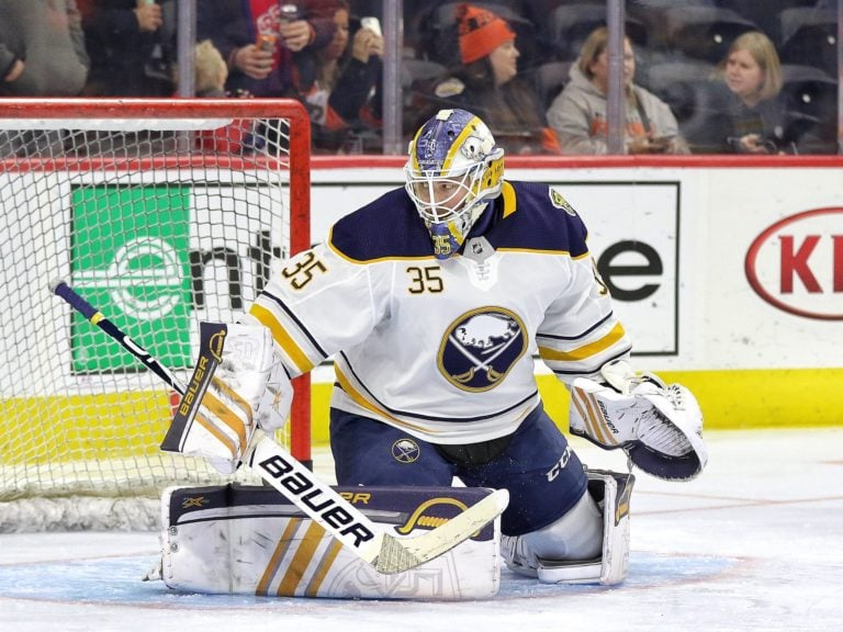 Linus Ullmark Buffalo Sabres
