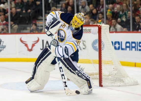 Linus Ullmark, Buffalo Sabres, Expansion Draft