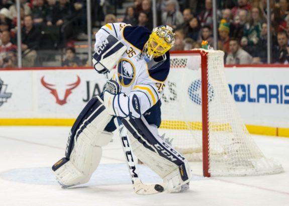 Buffalo Sabres Rochester Amerks Linus Ullmark