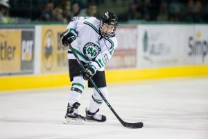 UND junior forward Lisa Marvin (photo credit: UND Athletics)