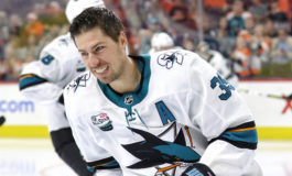 """Sharks Add the """"C"""" to Couture's Sweater"""