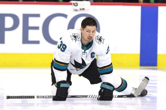Logan Couture San Jose Sharks