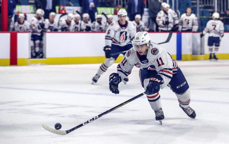 Logan Stankoven Kamloops Blazers
