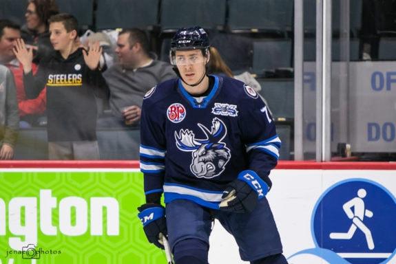 Logan Stanley Manitoba Moose