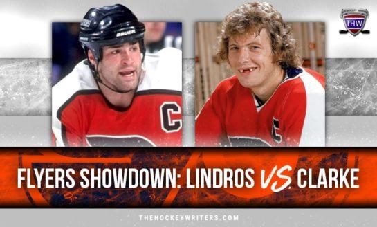 Flyers Showdown: Lindros vs. Clarke