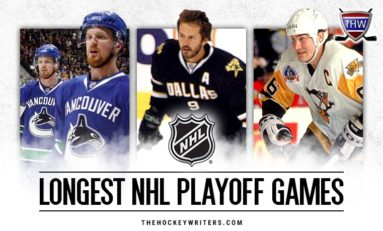 Longest NHL Games in the Post-Expansion Era