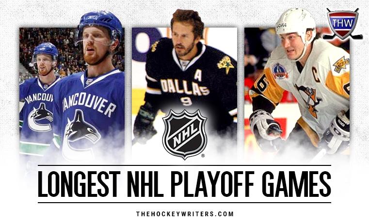 Longest NHL Playoff Games
