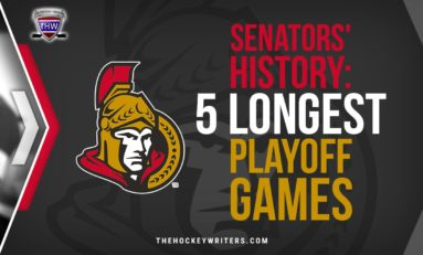 Senators History: 5 Longest Playoff Games