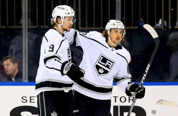 Los Angeles Kings Adrian Kempe Carl Hagelin