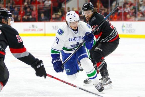 Loui Eriksson, Vancouver Canucks