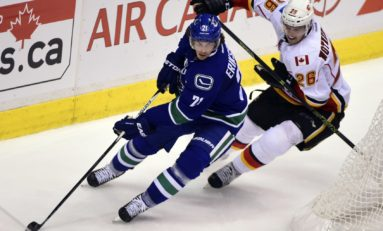 Canucks' Eriksson Showing Signs of Improvement
