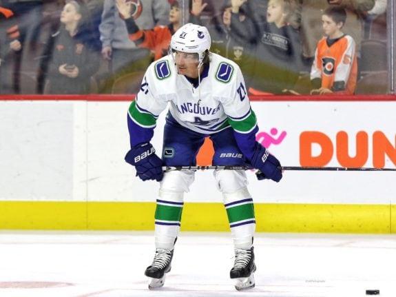 Loui Eriksson Vancouver Canucks