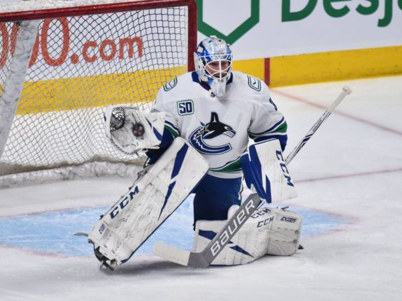 Louis Domingue Vancouver Canucks