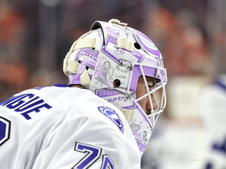 Louis Domingue Tampa Bay Lightning