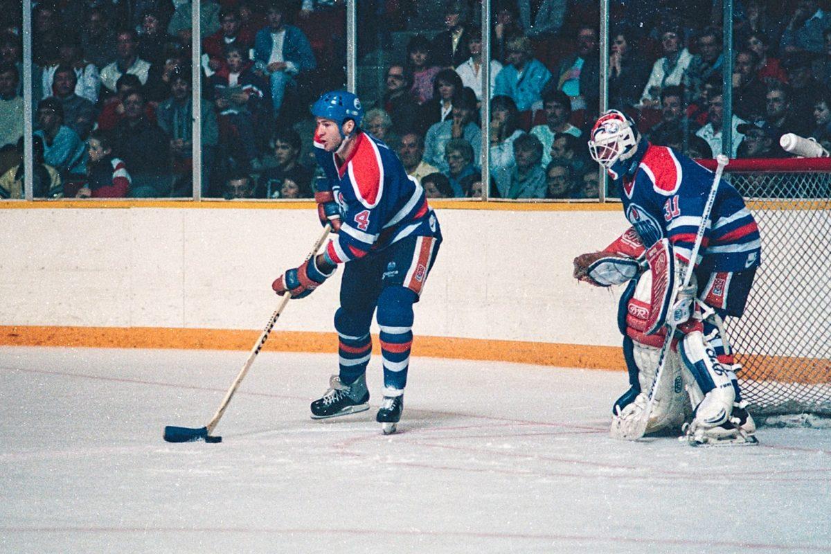 Kevin Lowe Grant Fuhr Edmonton Oilers