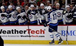Jets Beat Blackhawks on Hayes' OT Winner