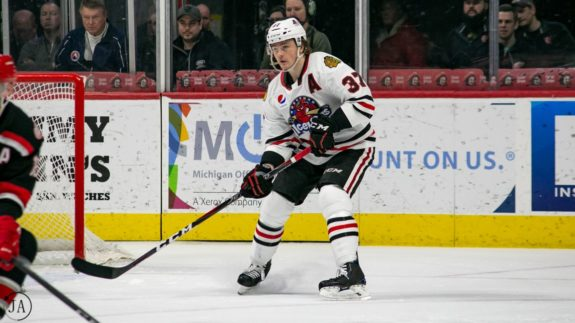 Luke Johnson Rockford Icehogs