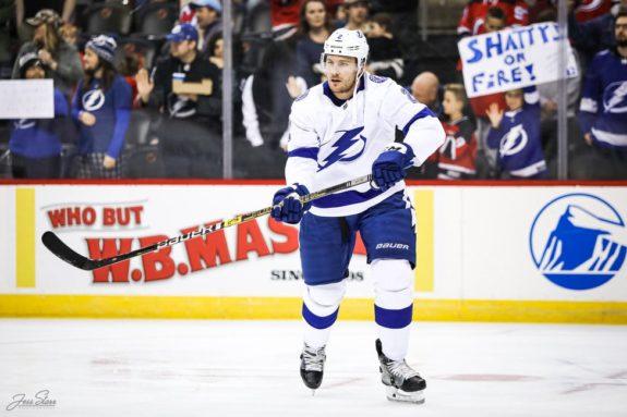 Luke Schenn Tampa Bay Lightning