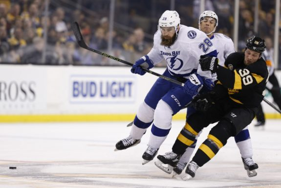 Boston Bruins left wing Matt Beleskey