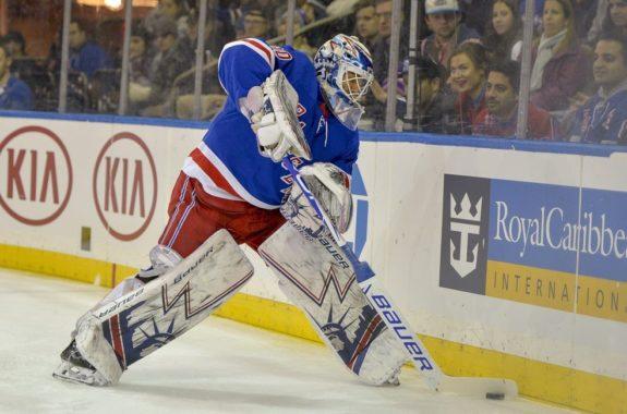 New York Rangers goaltender Henrik Lundqvist