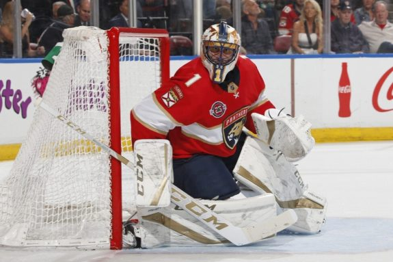 Florida Panthers Roberto Luongo