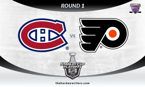 2020 Stanley Cup Playoffs Round 1 Montreal Canadiens vs Philadelphia Flyers