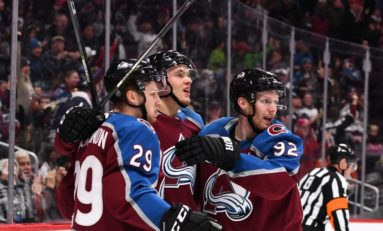 Avalanche's Top Line Keys Hot Start
