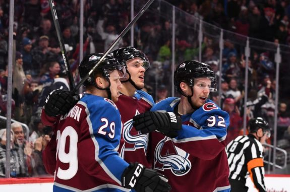 Colorado Avalanche, MacKinnon Rantanen Landeskog