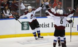 Adam Werner Shines in NHL Debut, Avalanche Beat Jets 4-0